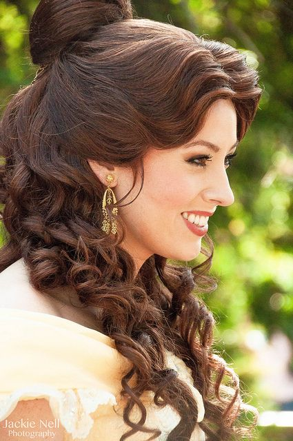 Beauty and the Beast themed wedding ideas - Hair and Make Up