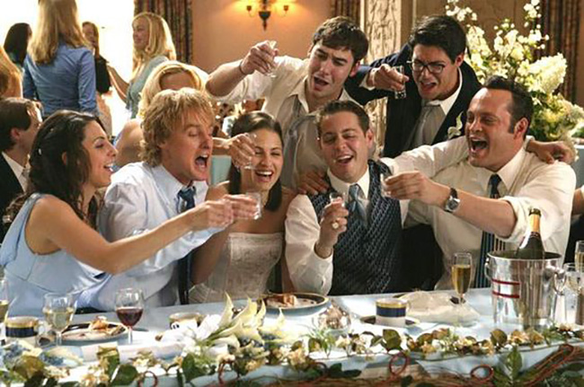 10 of the best movie weddings - Wedding Crashers | CHWV