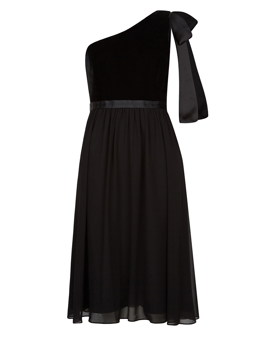 Wedding Ideas by Colour: Black Bridesmaid Dresses | CHWV