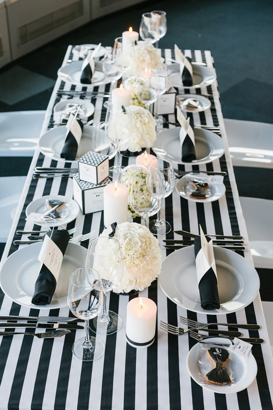 Black and White Wedding Theme | Wedding Ideas by Colour | CHWV