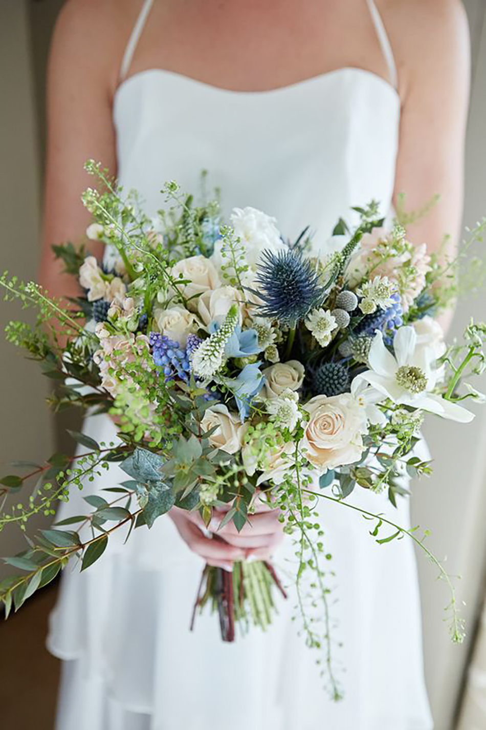 Blue Wedding Flowers Wedding Ideas Chwv