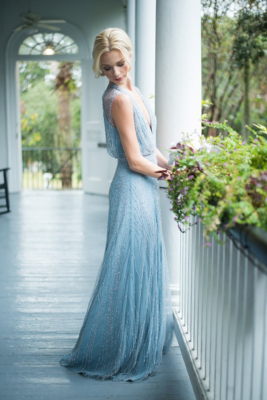 Blue Wedding Dresses | Wedding Ideas By Colour | CHWV