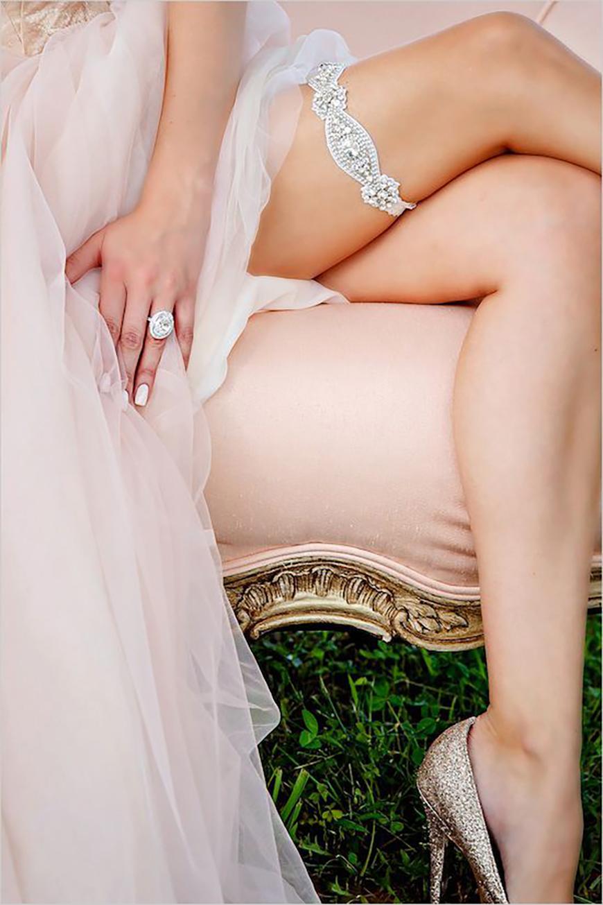 Wedding Ideas by Colour: Blue Bridal Underwear - Something blue | CHWV