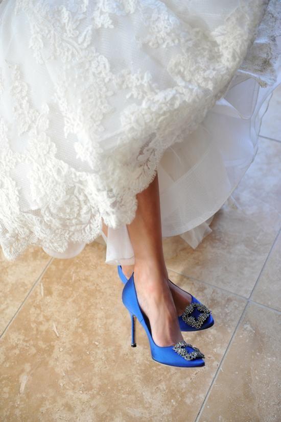 Blue Wedding Shoes Wedding Ideas Chwv
