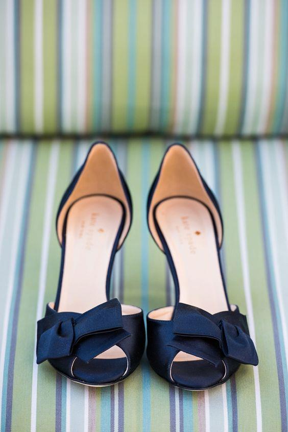 Wedding Ideas By Colour: Blue Wedding Shoes | CHWV