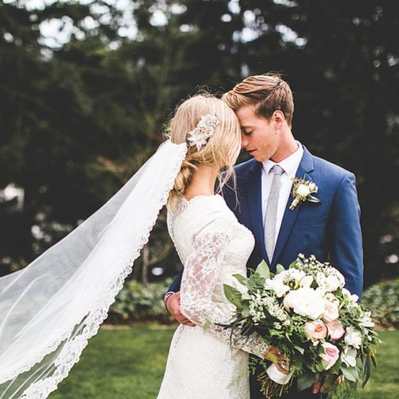 Blue Wedding Ideas | Wedding Suits | CHWV