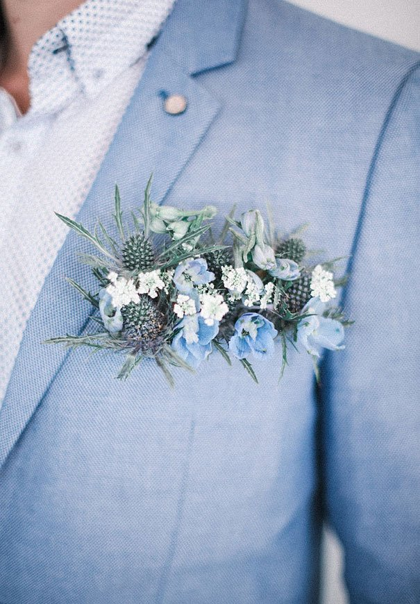 Wedding Ideas by Colour: Blue Wedding Suits - Pastel blue | CHWV