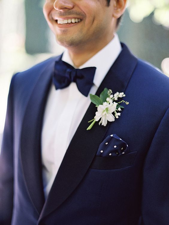 Wedding Ideas by Colour: Blue Wedding Suits - Different styles | CHWV