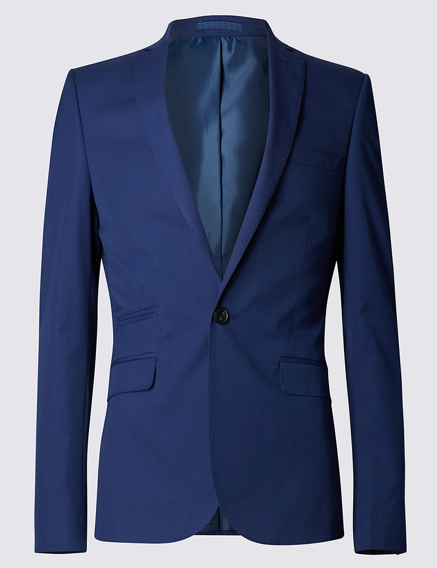 Wedding Ideas by Colour: Blue Wedding Suits - The High Street | CHWV