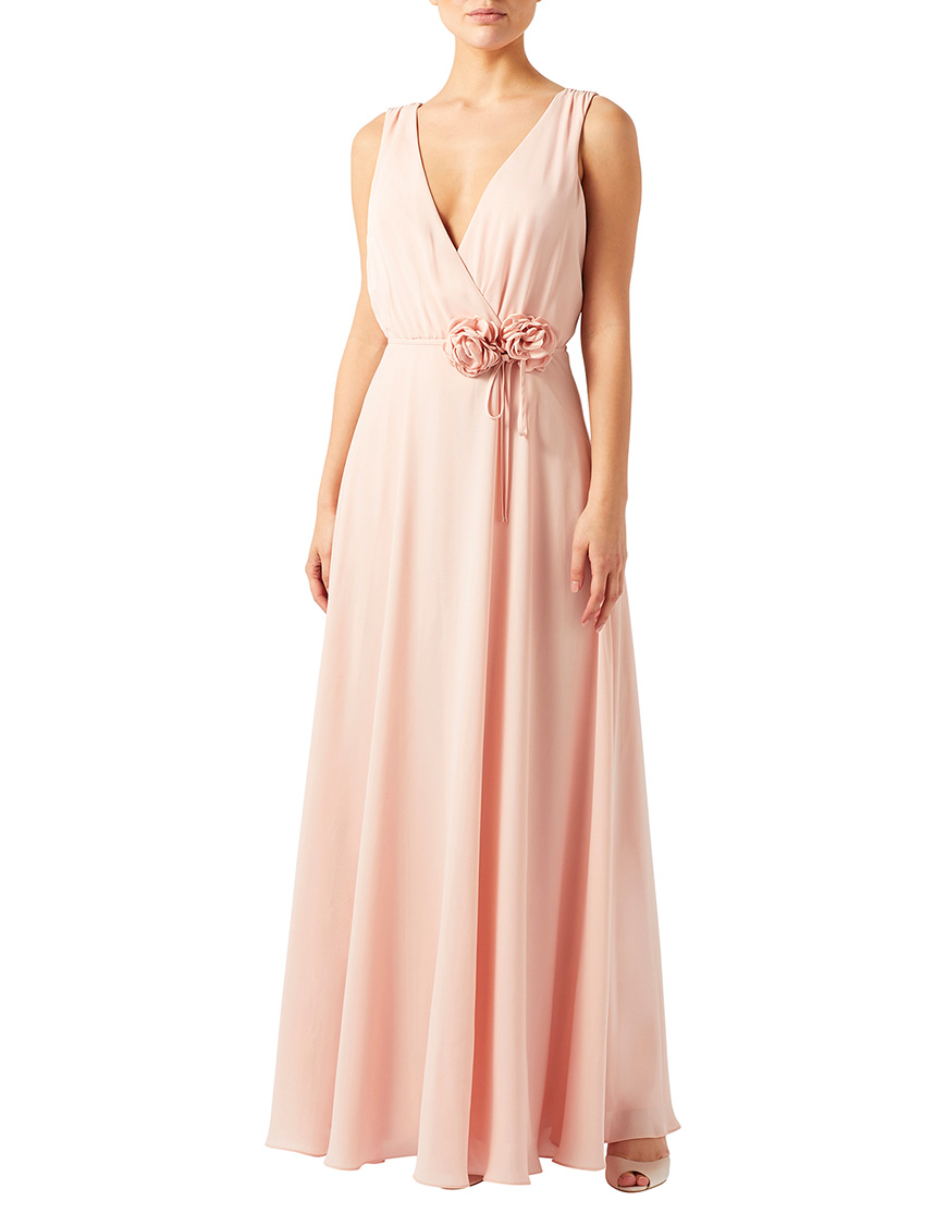 Blush Wedding Dress Bridesmaids : Blush bridesmaid dresses wedding ideas by colour chwv