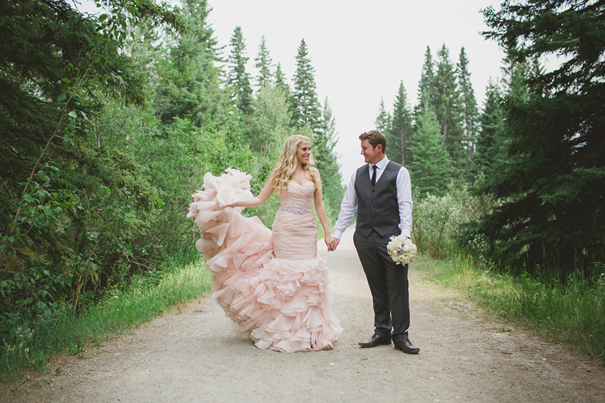 Wedding Ideas By Colour: Blush Wedding Theme - Delightful dresses | CHWV