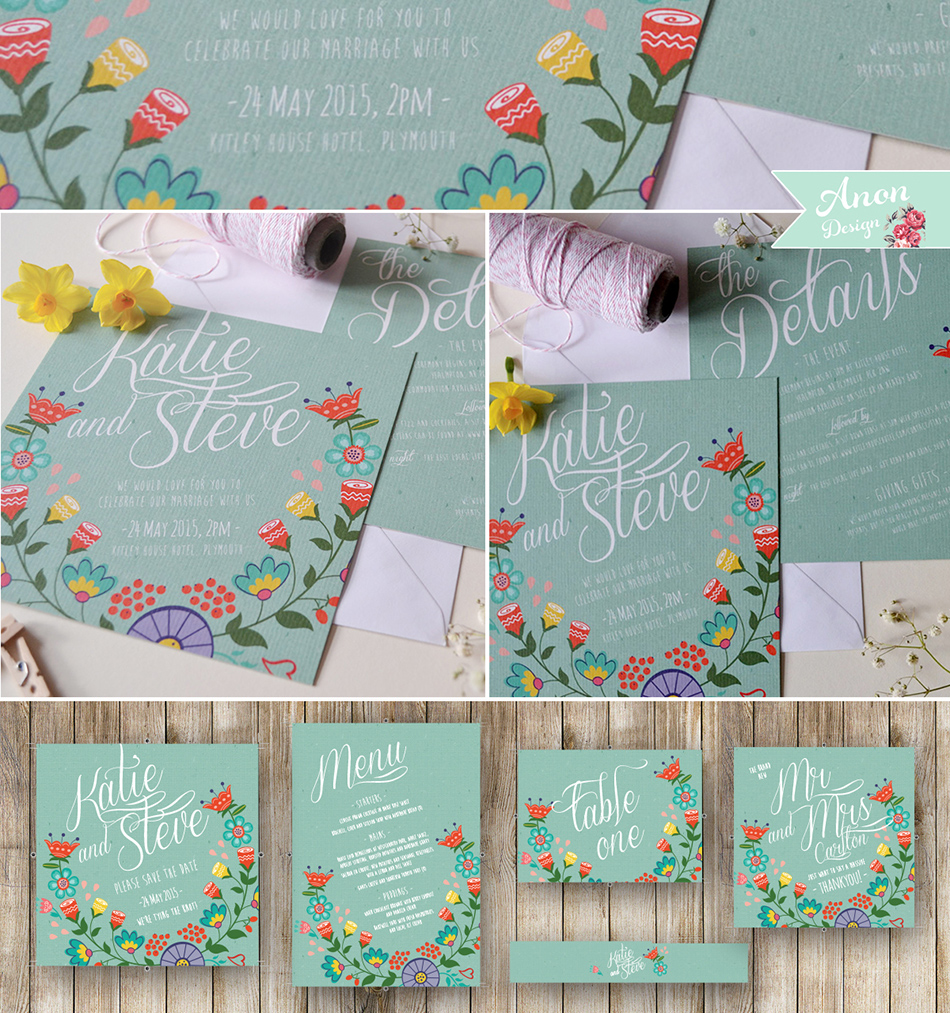 Bohemian Wedding Invitations - Woodland | CHWV