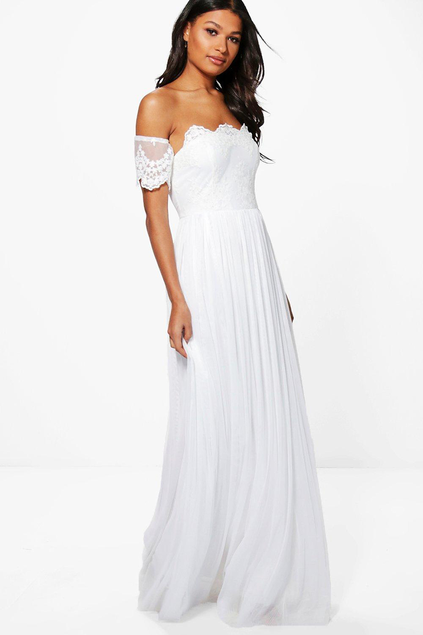 50 wedding dresses under 150 chwv for Boohoo dresses for weddings