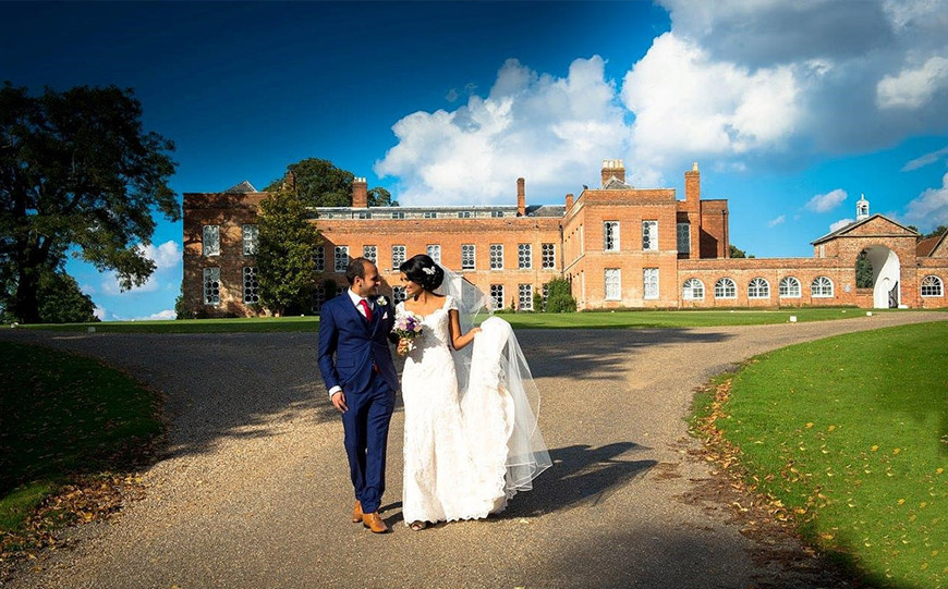 The Best Country House Wedding Venues For An Autumn Wedding - Braxted Park | CHWV