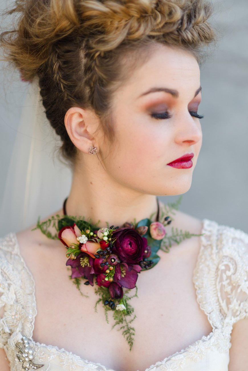 Wedding Ideas By Colour: Bright Wedding Accessories - Jewellery and Lace | CHWV