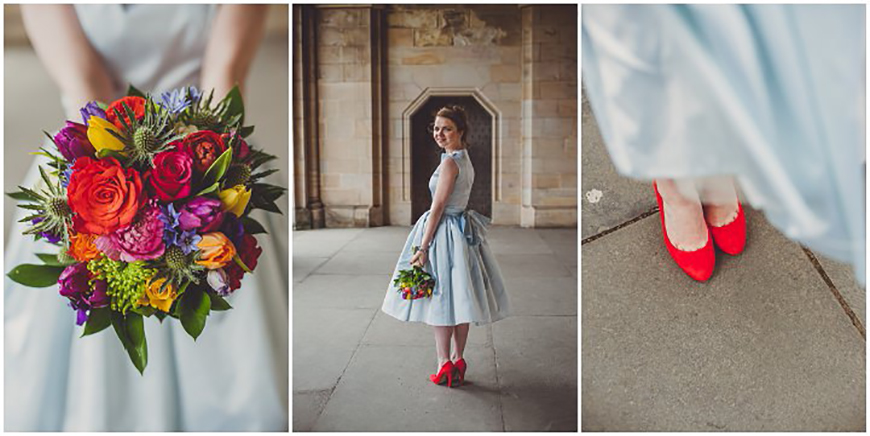 Wedding Ideas By Colour: Bright Wedding Accessories - Shoes | CHWV