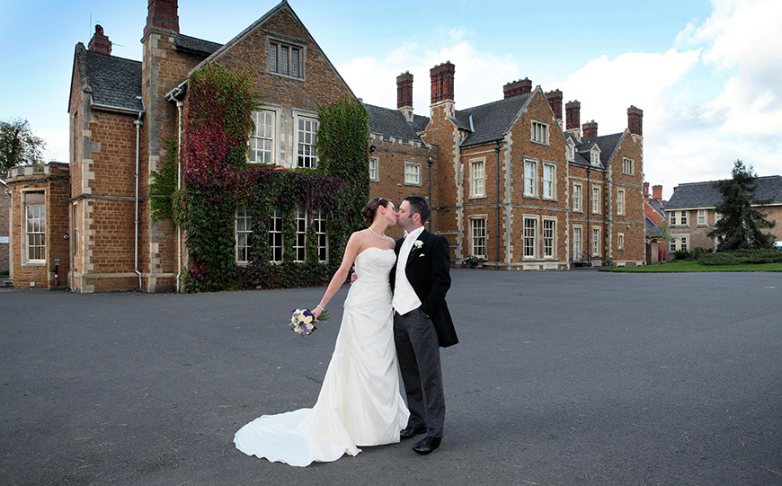 The Best Country House Wedding Venues For An Autumn Wedding - Brooksby Hall | CHWV