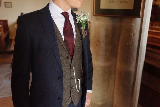 Brown Wedding Suits Wedding Ideas By Colour Chwv