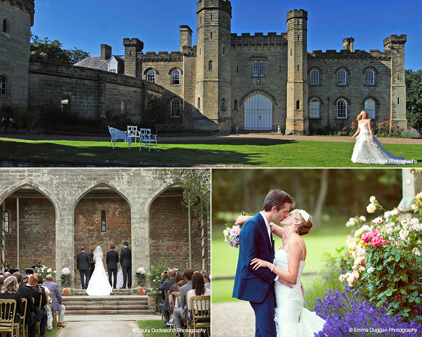 Chiddingstone Castle - Castle wedding venue in Kent