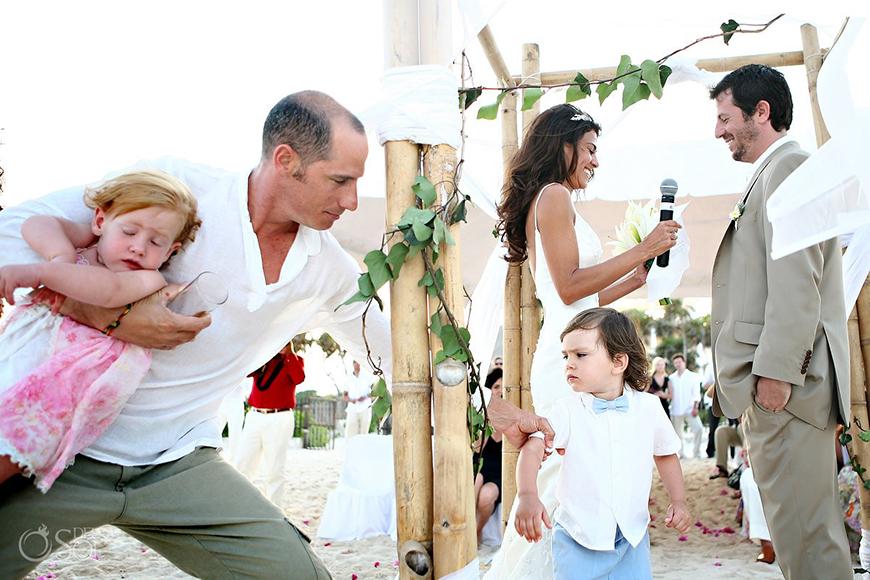 Children at weddings: The big debate   CHWV