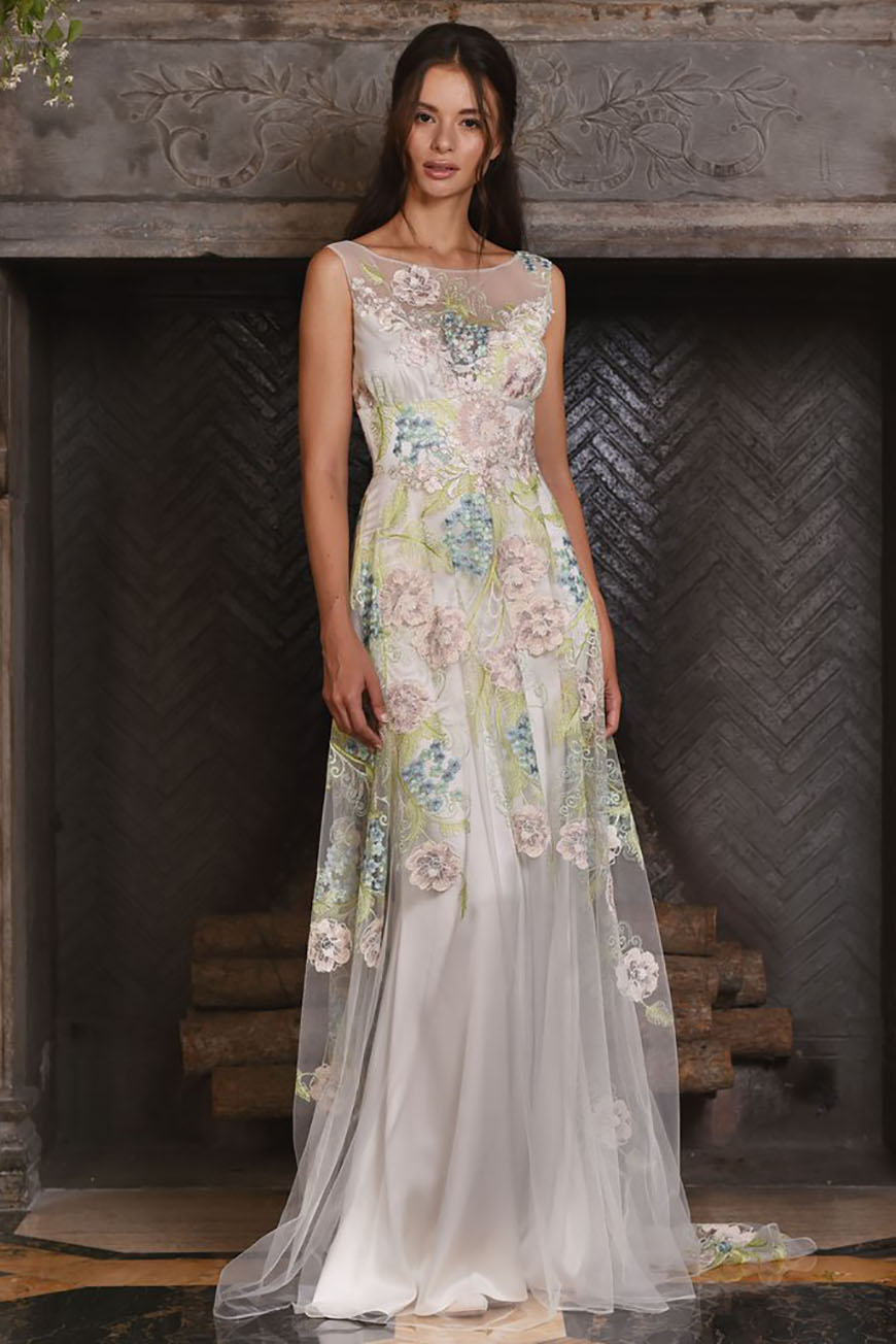a closer look at claire pettibone wedding dresses maia chwv