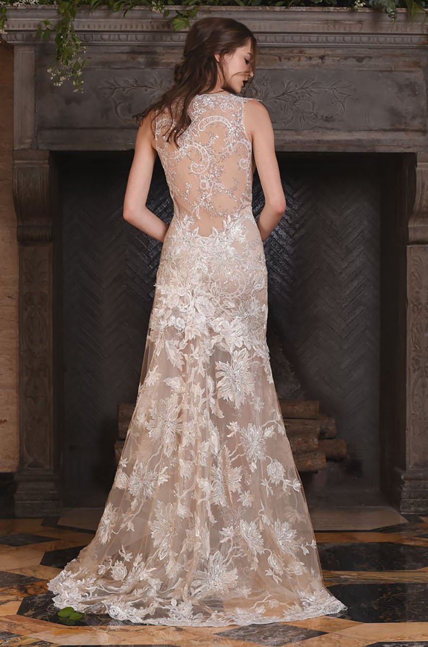 A closer look at claire pettibone wedding dresses chwv for Wedding dress claire pettibone