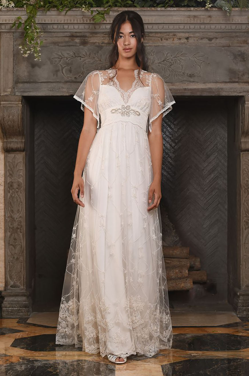 A Closer Look At Claire Pettibone Wedding Dresses - Theia   CHWV