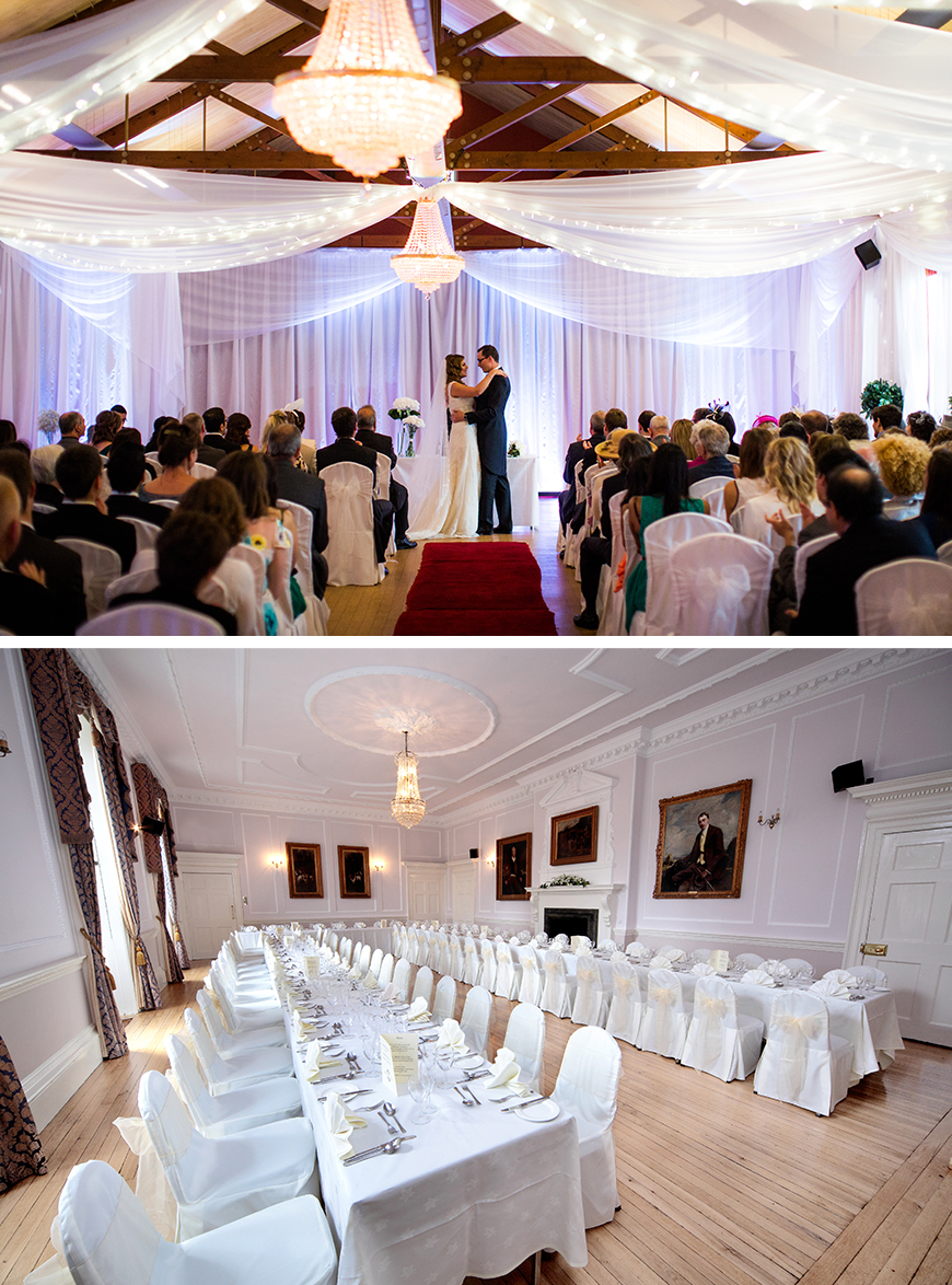 21 Classic Country House Wedding Venues - Brooksby Hall | CHWV