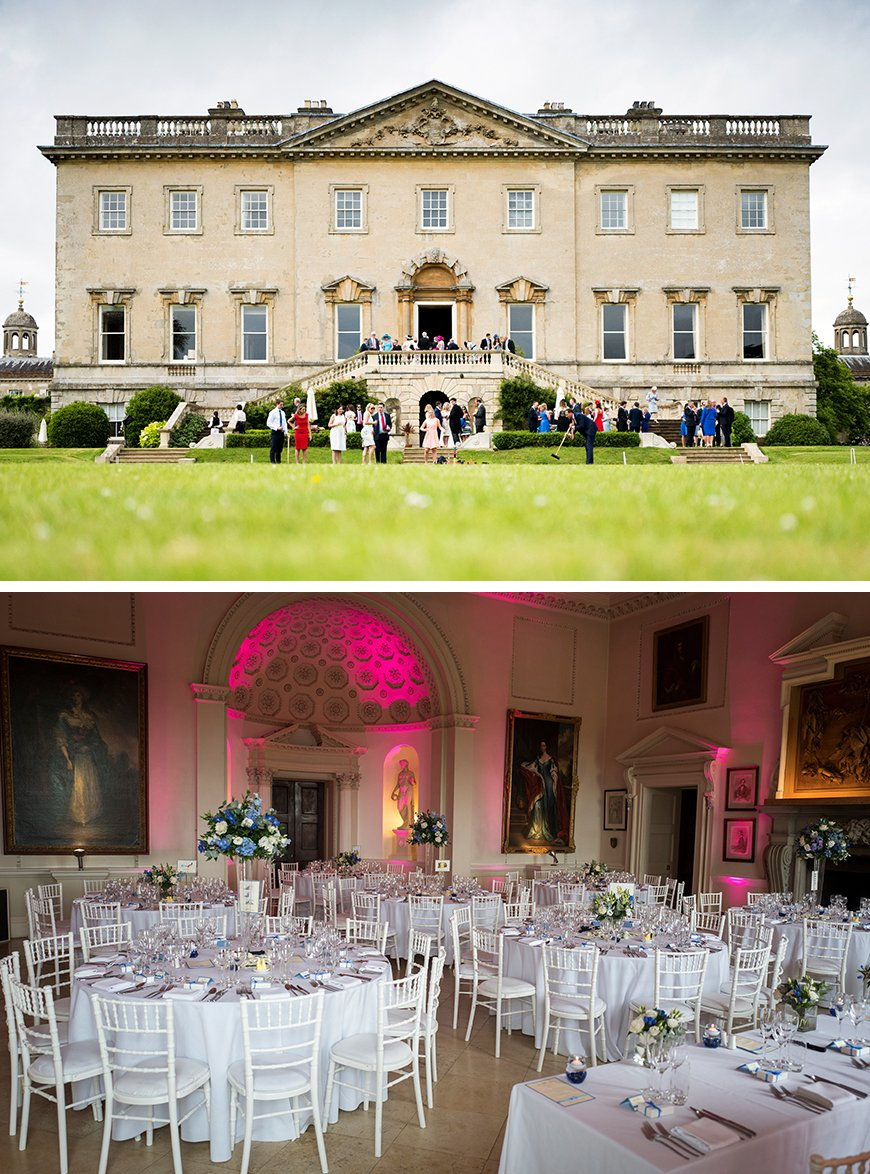 21 Classic Country House Wedding Venues - Kirtlington Park | CHWV