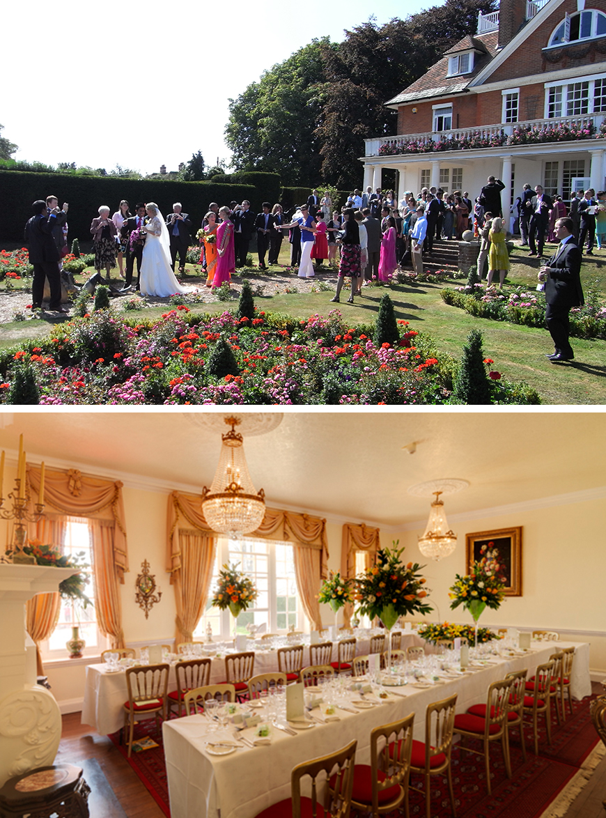 21 Classic Country House Wedding Venues - Saltcote Place | CHWV