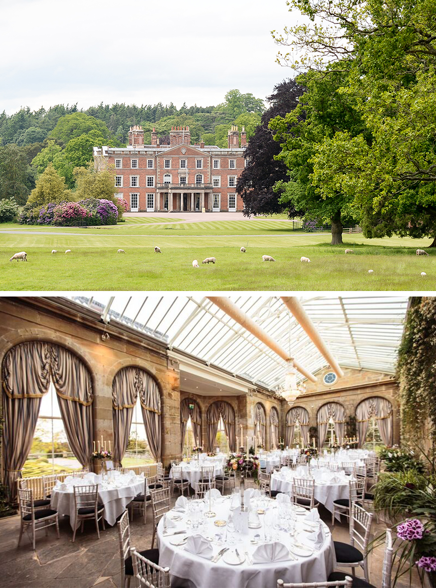 21 Classic Country House Wedding Venues - Weston Park | CHWV