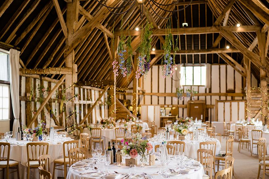 8 Wonderful Wiltshire Wedding Venues - Clock Barn | CHWV