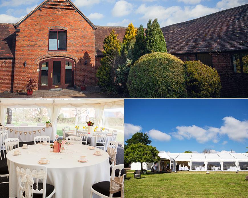 Bordesley Park - Stunning Summer Wedding Setting