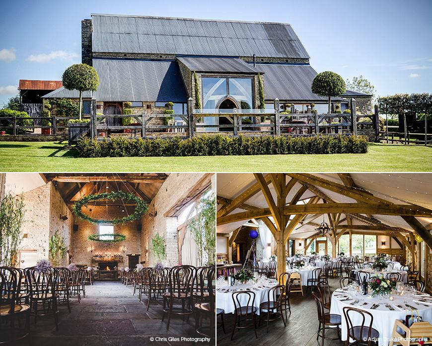 Cripps Barn - Stunning Summer Wedding Setting