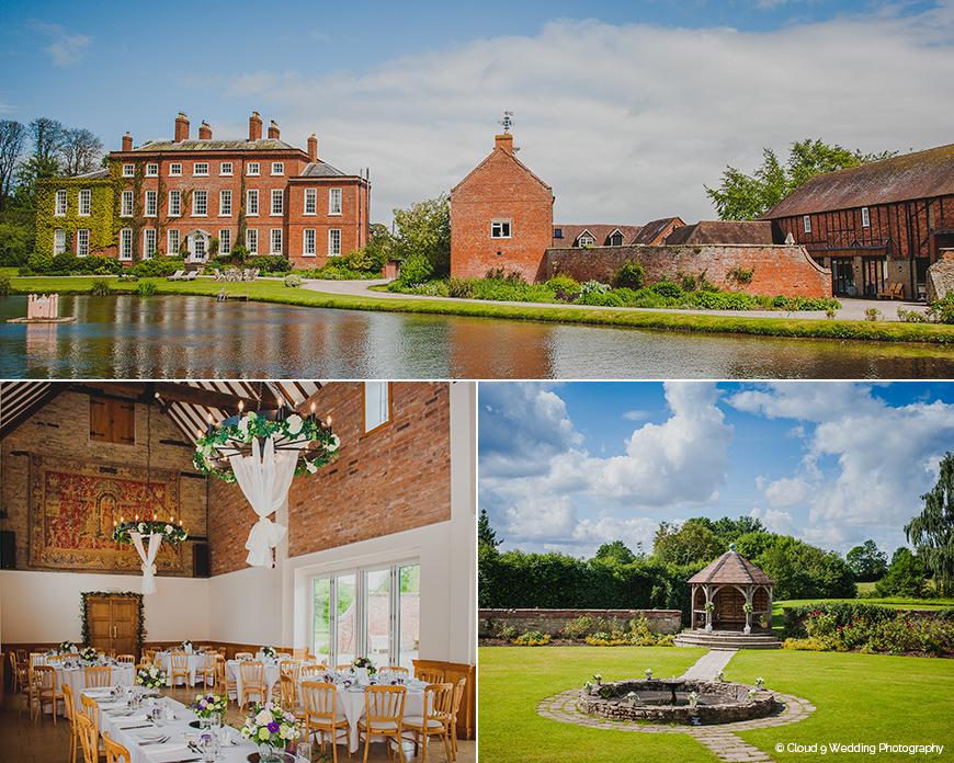 Delbury Hall - Stunning Summer Wedding Setting
