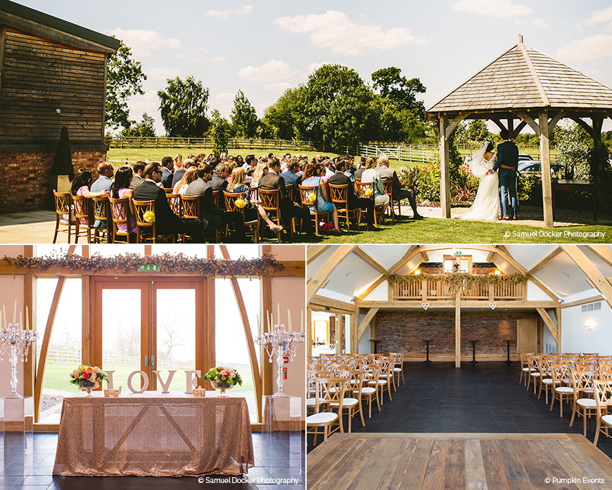 Mythe Barn - Stunning Summer Wedding Setting