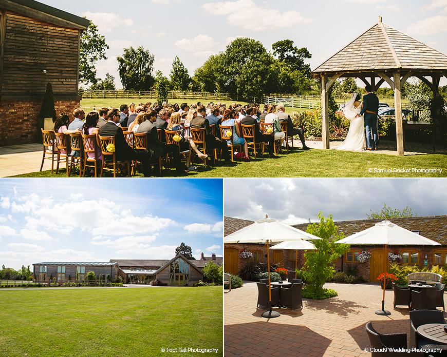 Mythe Barn - Barn wedding venue in Leicestershire