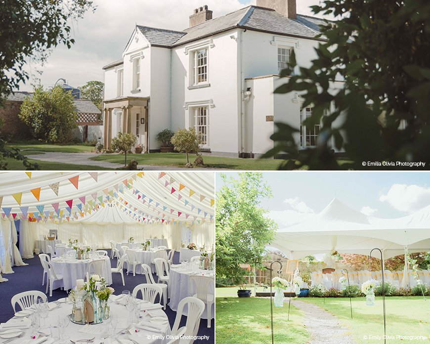 Pentre Mawr - Stunning Summer Wedding Setting