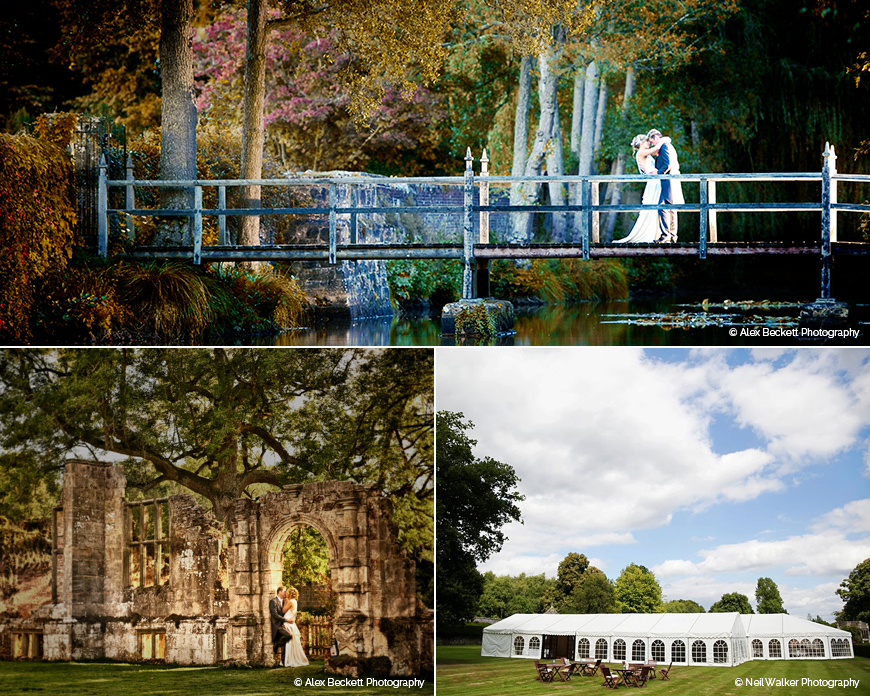 Slaugham Place - Marquee wedding venue in West Sussex
