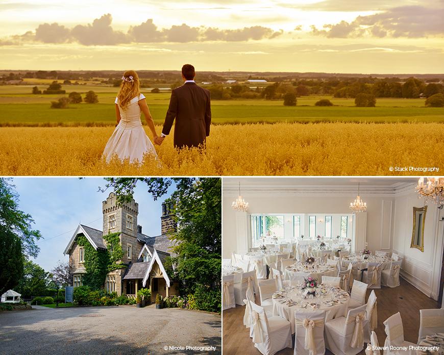 West Tower - Stunning Summer Wedding Setting