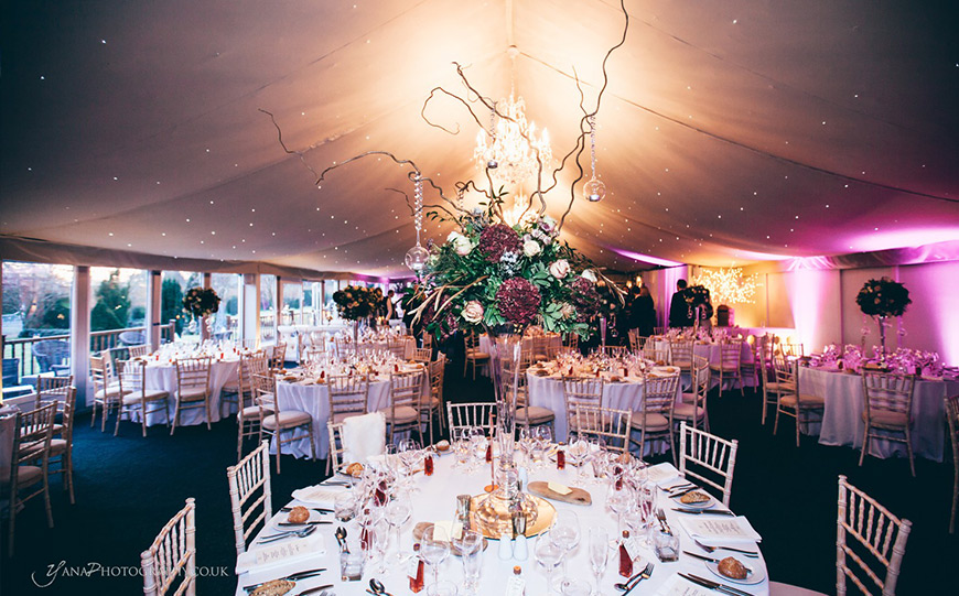 The Best Country House Wedding Venues For An Autumn Wedding - Combermere Abbey | CHWV