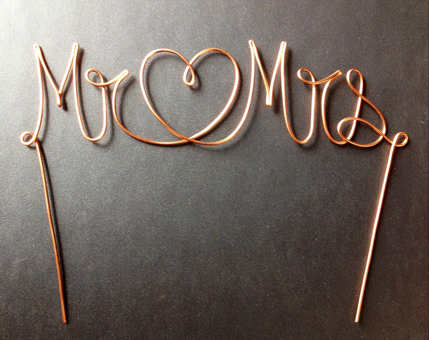 Wedding Ideas By Colour: Copper Wedding Theme - Favours   CHWV
