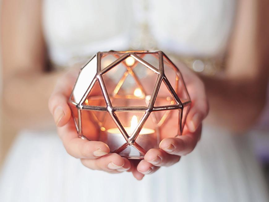 Wedding Ideas By Colour: Copper Wedding Theme - Decor | CHWV