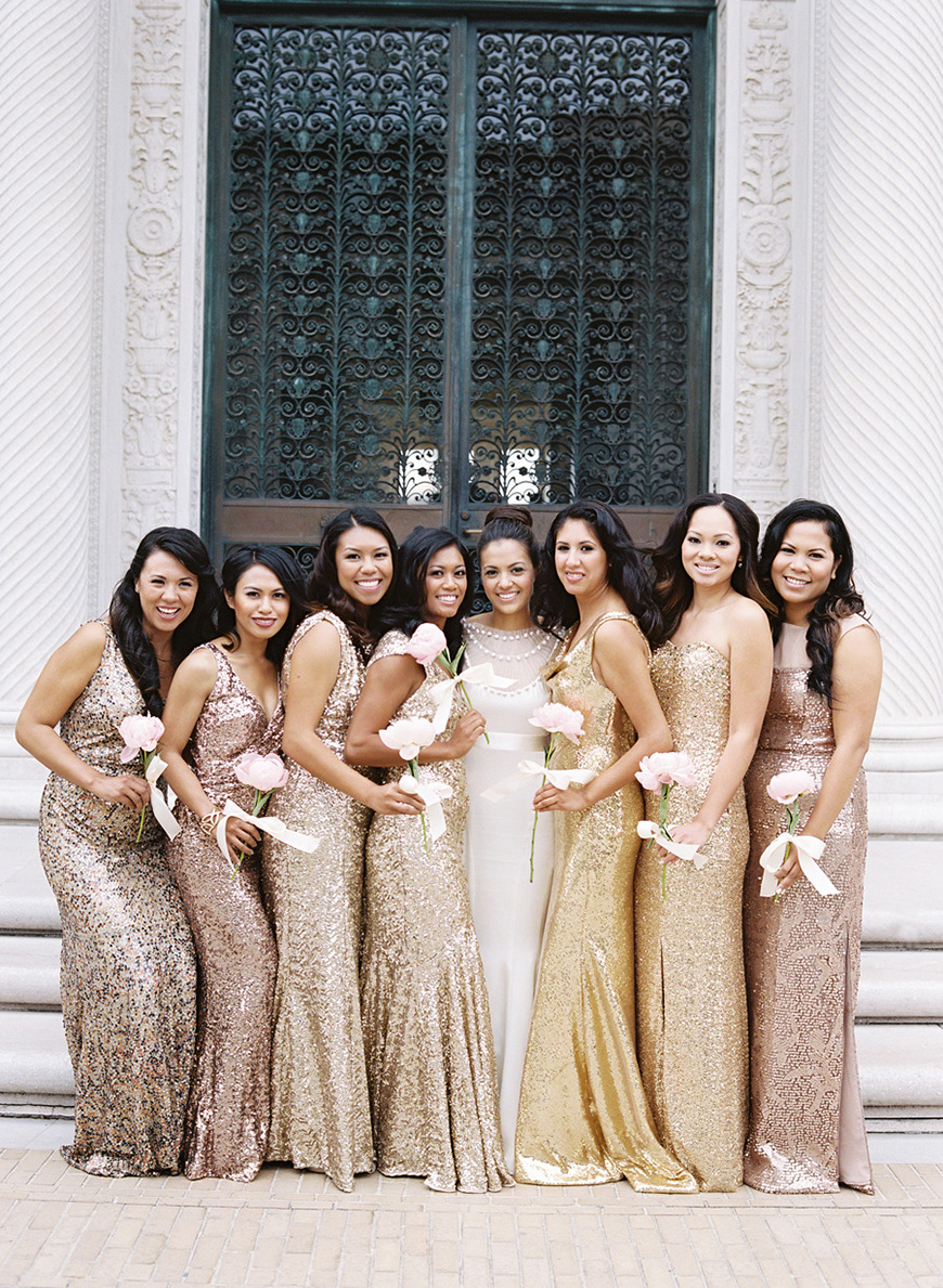 Wedding Ideas By Colour: Copper Wedding Theme - Outfits   CHWV