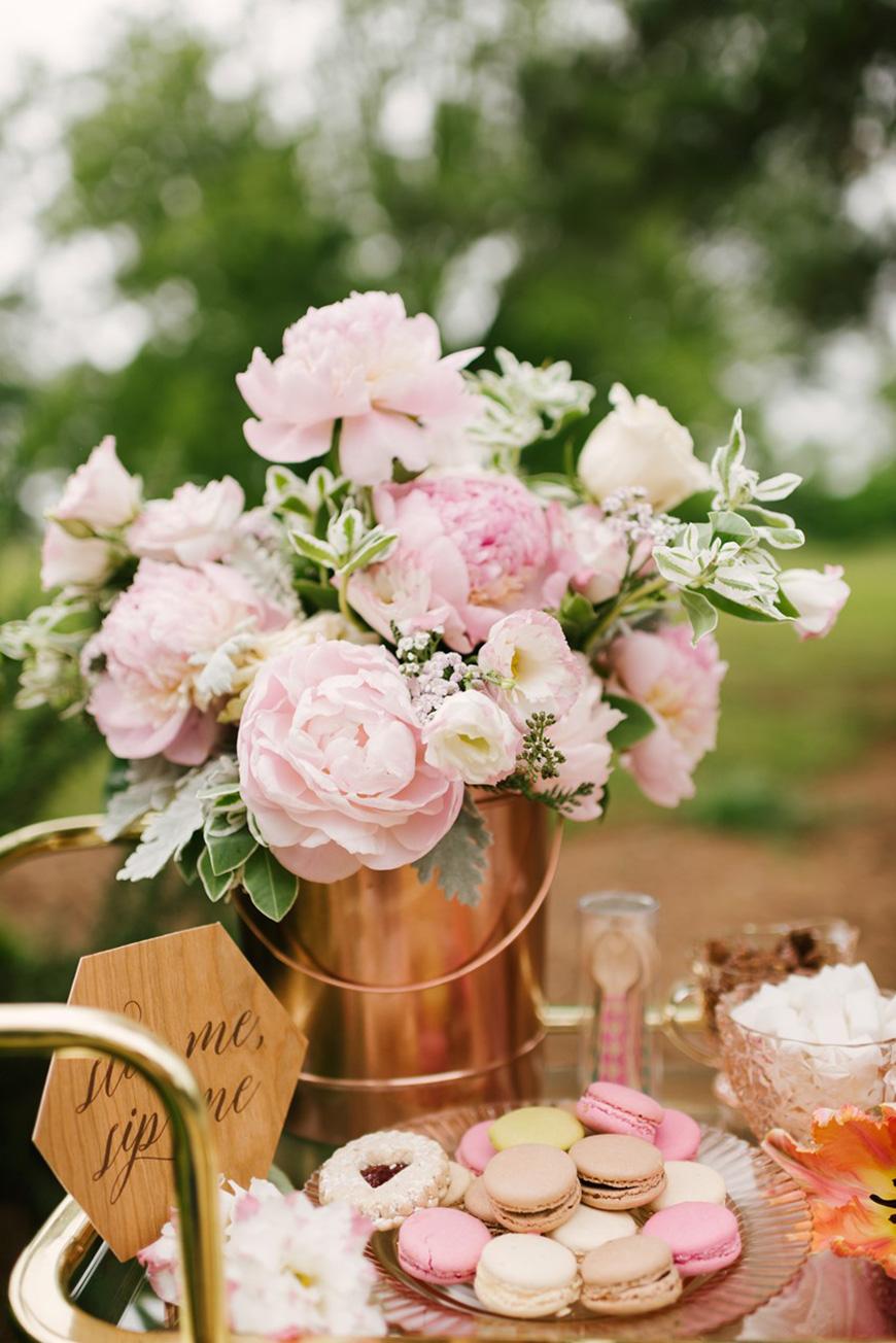 Wedding Ideas By Colour: Copper Wedding Theme - Tables | CHWV