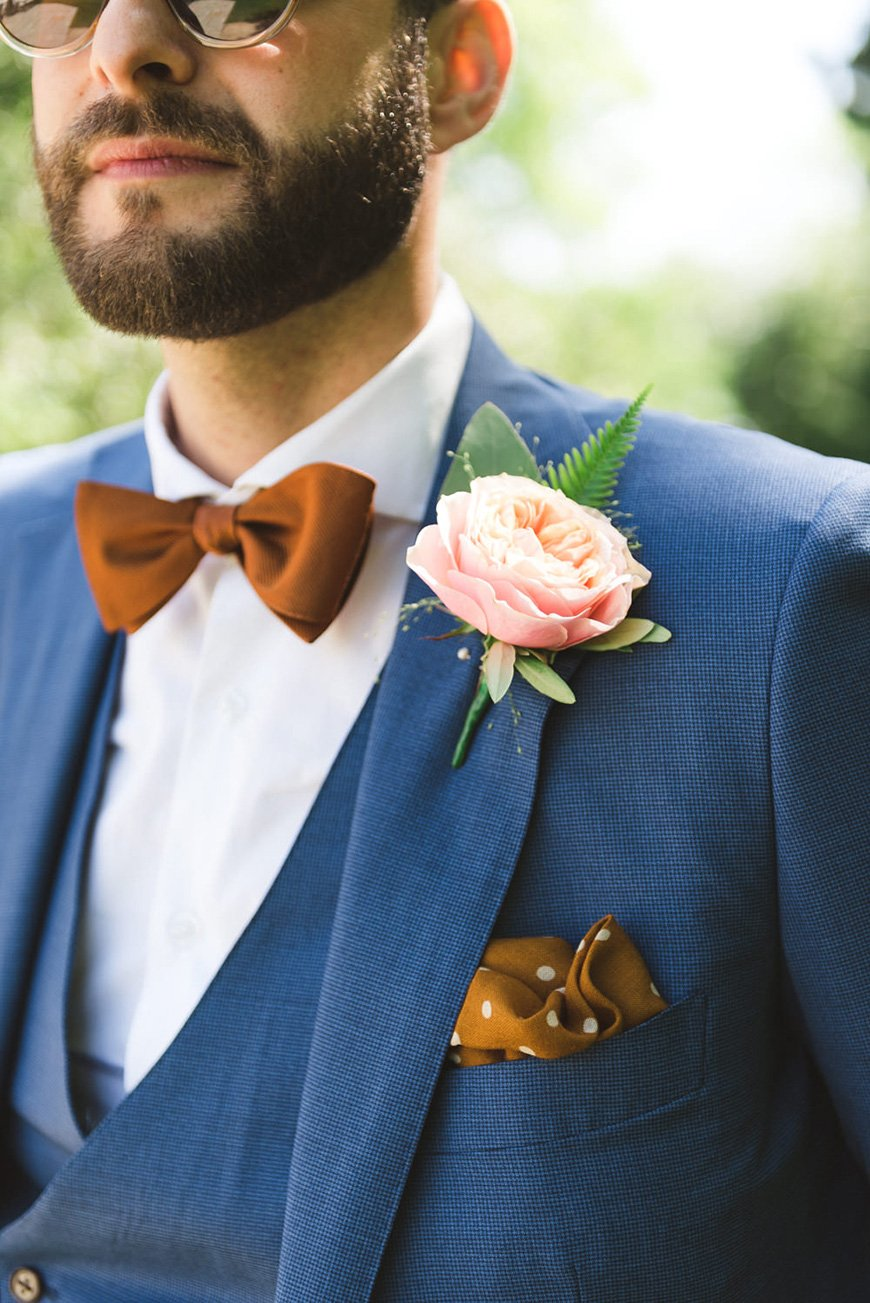 Wedding Ideas By Colour: Copper Wedding Theme - Outfits | CHWV