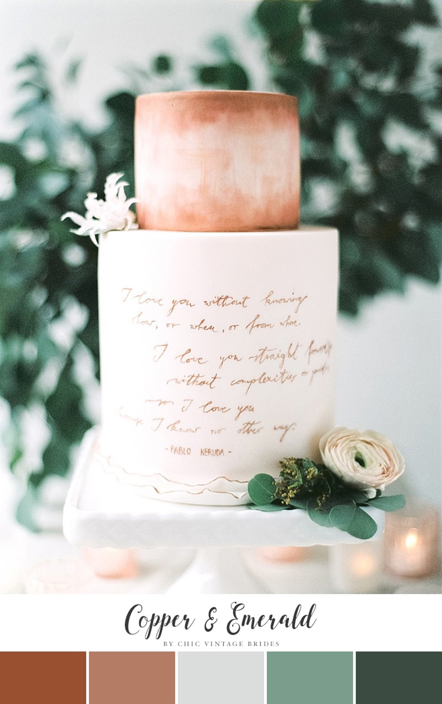 Wedding Ideas By Colour: Copper Wedding Theme - Favours | CHWV