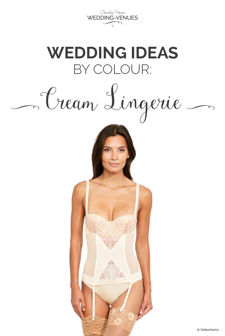 af324acc9 Wedding Ideas by Colour  Cream Bridal Lingerie