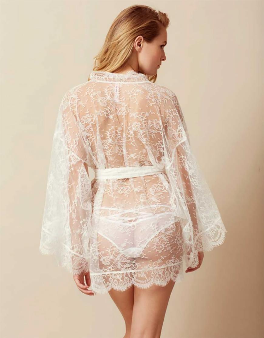 Wedding Ideas by Colour: Cream Bridal Lingerie | CHWV
