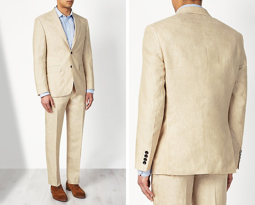 Weddings Ideas by Colour: Cream Wedding Suits - Keeping it Formal | CHWV